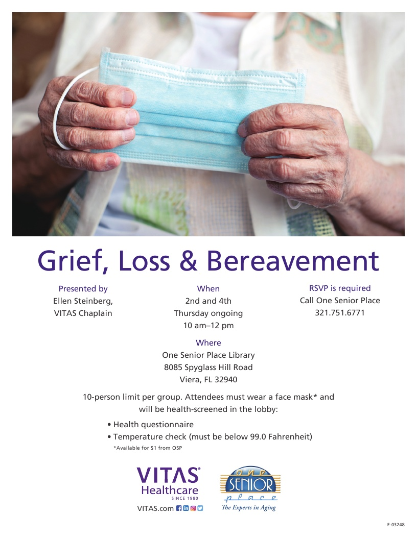 Grief, Loss & Bereavement Support Group