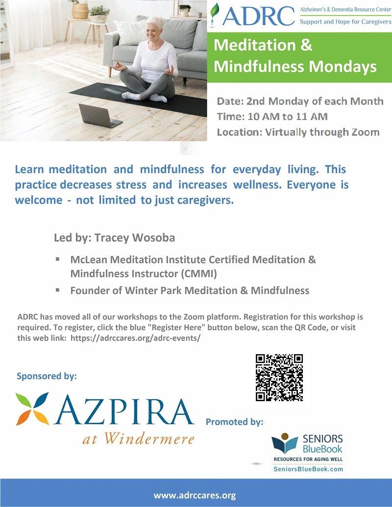 VIRTUAL: Meditation & Mindfulness Mondays