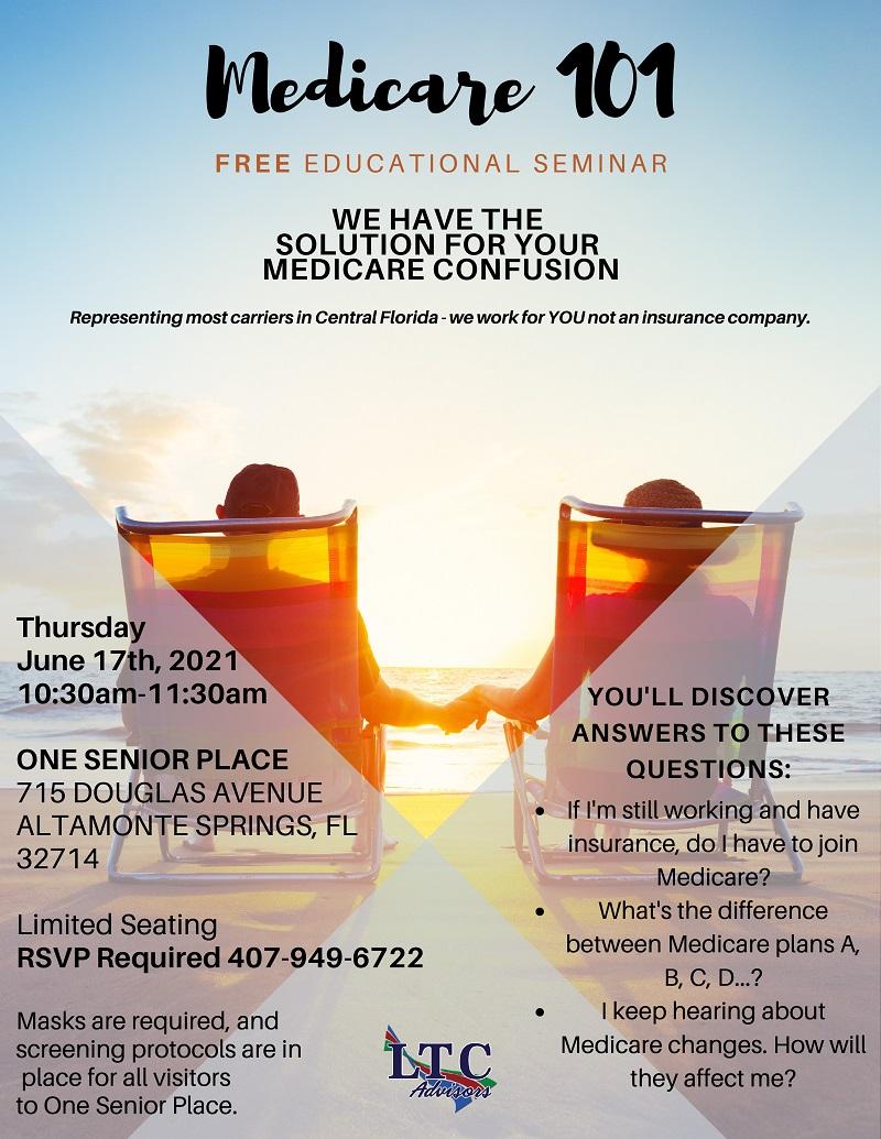 IN-PERSON: Medicare 101