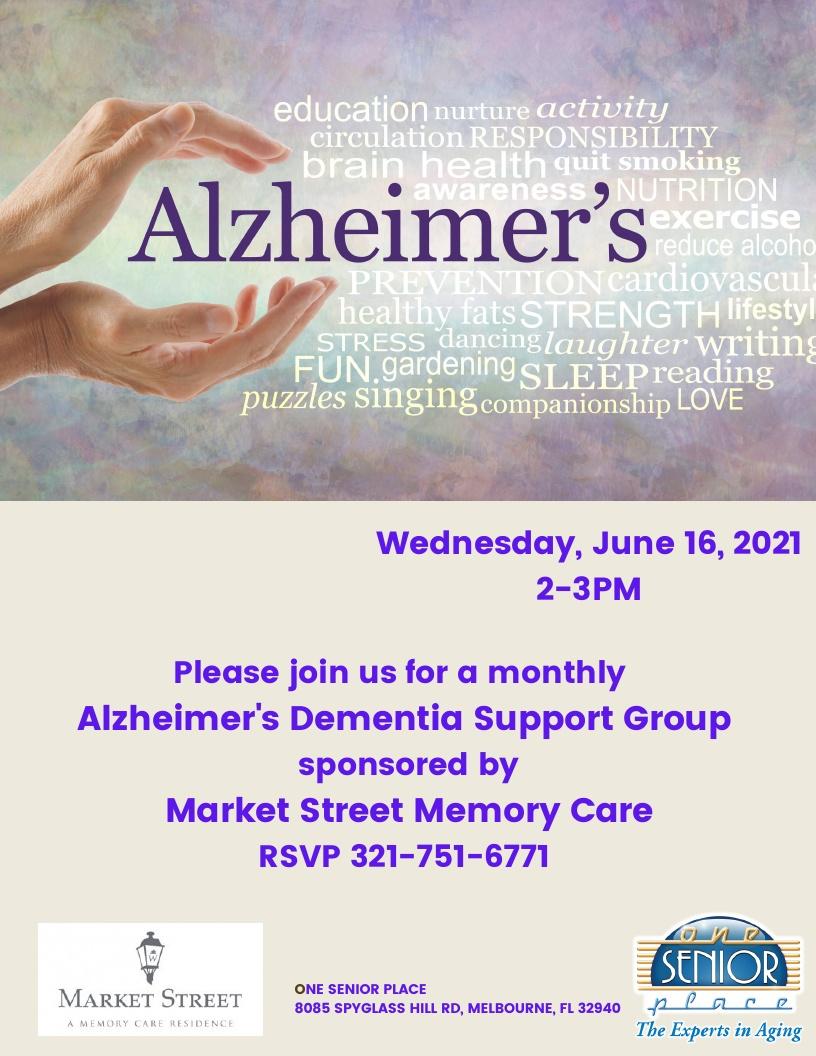 Alzheimer's/Dementia Support Group