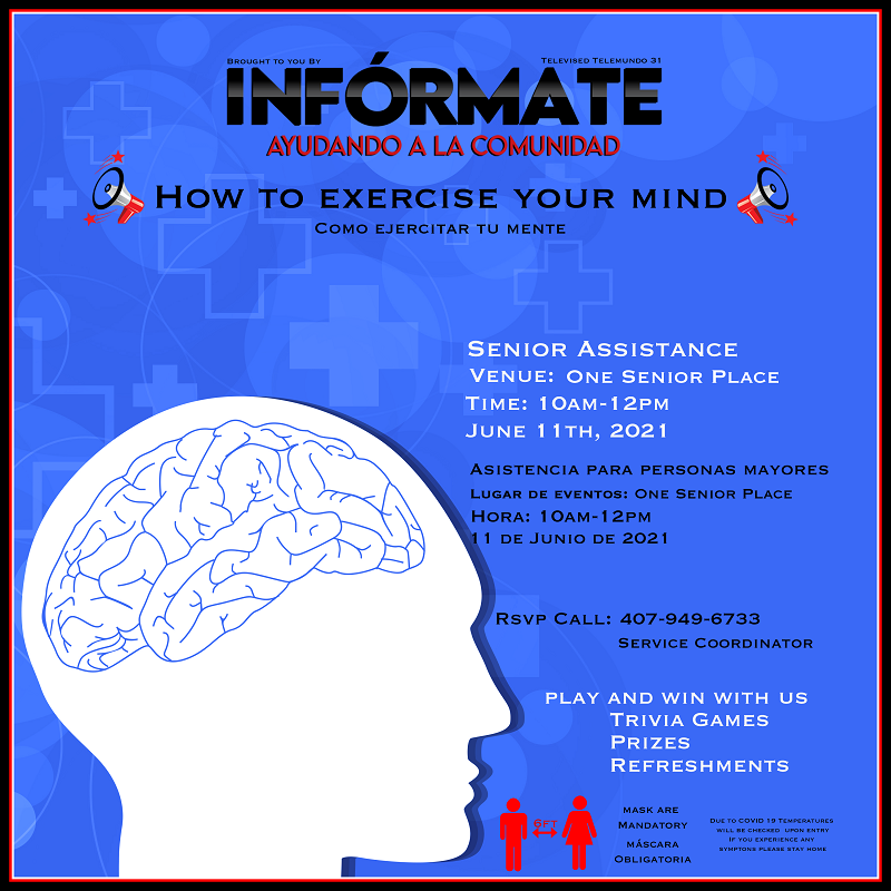 IN PERSON: How To Exercise Your Mind
