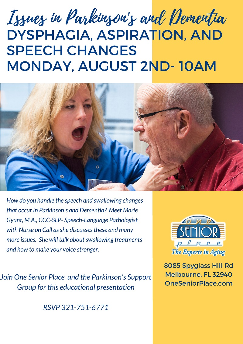 Issues in Parkinson's and Dementia, Parkinson's Support Group