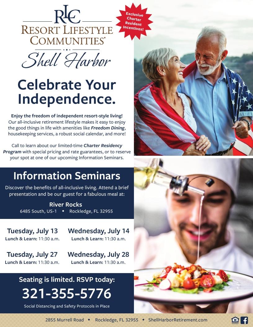 Shell Harbor Retirement Community - Information Seminars