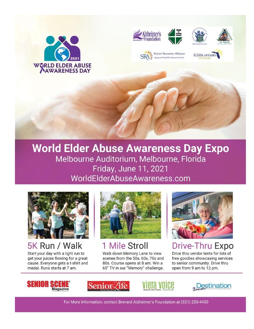 Drive Thru Expo - World Elder Abuse Awareness Day